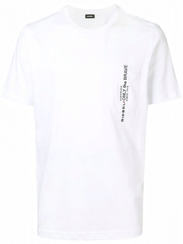 4a6e92dad7f27 Pánské Diesel tričko T-Just-Pocket bílé | VANESA STYLE s.r.o.