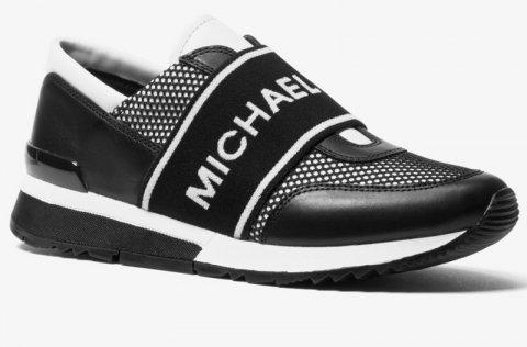302302e0f6 Tenisky Michael Kors Mesh Leather Trainer černé