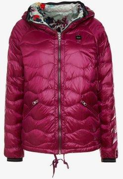 Dámská Blauer bunda péřová fialová 9636a723f9b