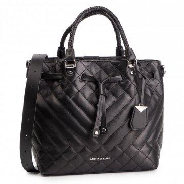 af3cf83251 Kabelka Michael Kors Bakely Medium Bucket Bag Leather černá